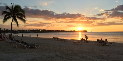 photo of sunset beach