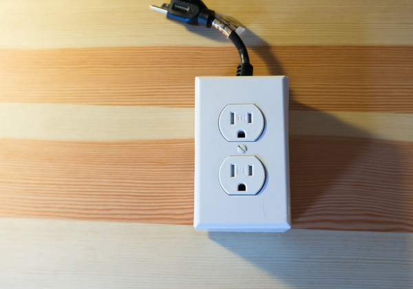 photo of outlet header
