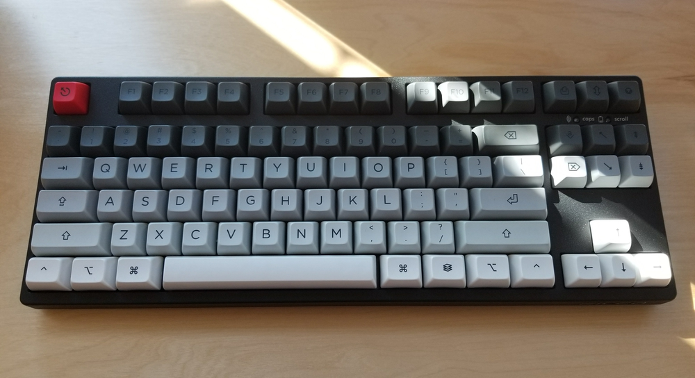 photo of filco majestouch 2 tkl convertible