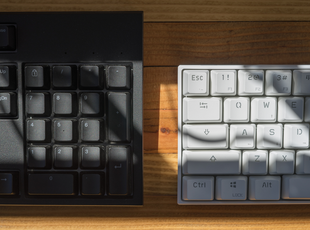 photo of keyboards